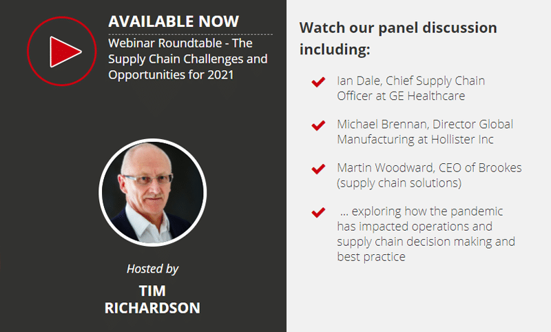 Supply Chain Challenges and Opportunities for 2021