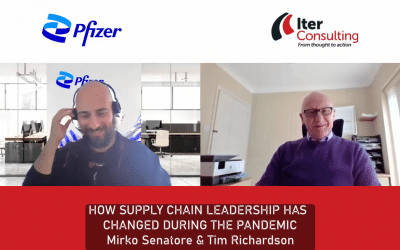Pfizer and Iter Discuss How Supply Chain Has Changed During the Pandemic